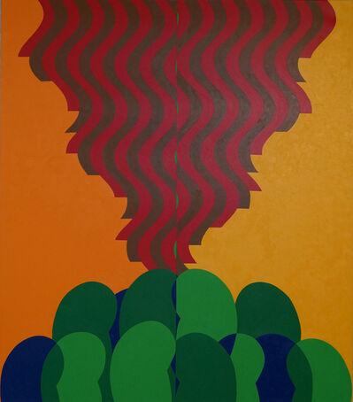 Mohamed Melehi, 'Untitled', 2017