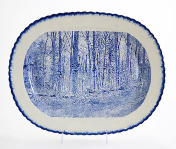 Paul Scott, 'Cumbrian Blue(s), New American Scenery, Near the Oxbow (After Thomas Cole)', 2019
