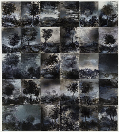 Tony Clark, 'Thirty Sections from Clark's Myriorama (grisaille)', 2013