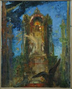 Gustave Moreau, 'Jupiter and Semele', ca. 1889