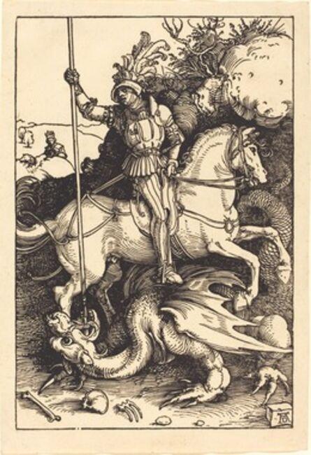 Albrecht Dürer, 'Saint George Killing the Dragon', 1501/1504