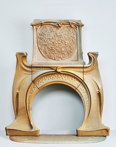 Hector Guimard, 'Fireplace and Chimney Piece', ca. 1900