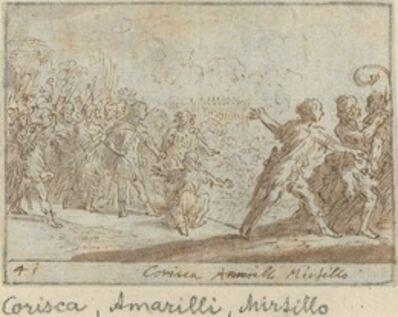 Johann Wilhelm Baur, 'Corisca, Amarilli and Mirtillo', 1640