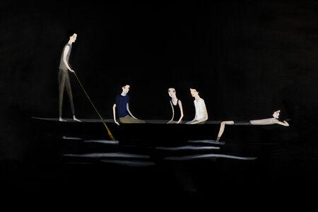 Carolina Raquel Antich, 'El bote de los chicos / The  boy's boat', 2020