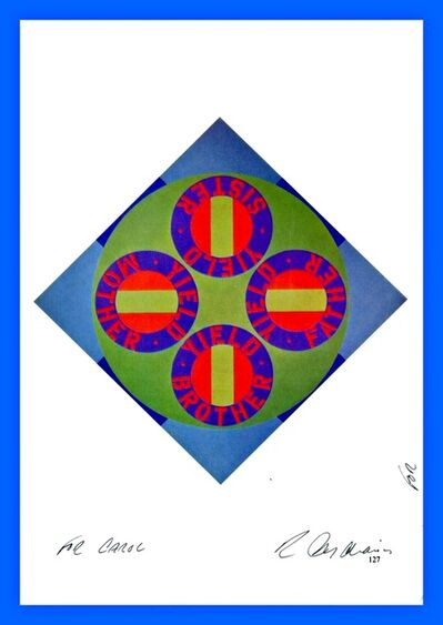 Robert Indiana, 'Hand Signed Offset Lithograph (from the Estate of UACC President Cordelia Platt)', ca. 1987