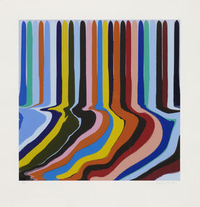 Ian Davenport, 'Azure Blue Etching', 2011