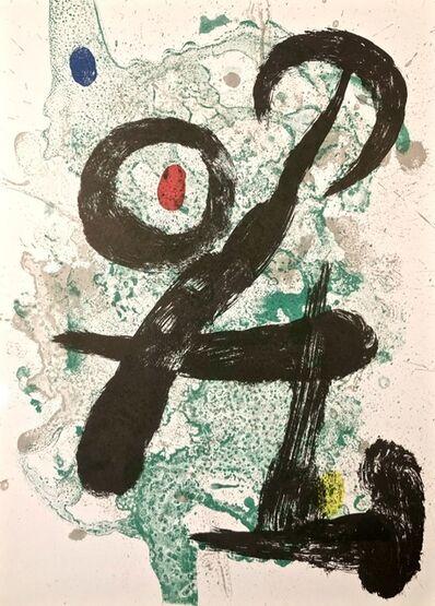Joan Miró, 'The Faun', 1963