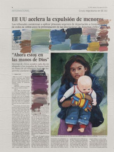 Sandra Gamarra, 'Prueba de color III', 2014