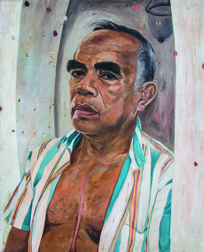 winner jumalon, 'Second Life Portrait', 2006