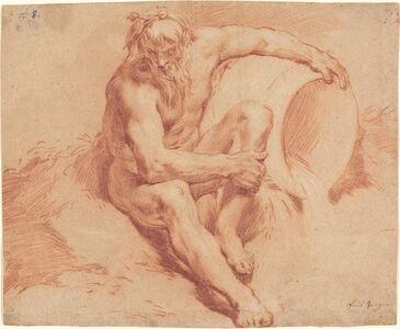 Paul Troger, 'River God', ca. 1720