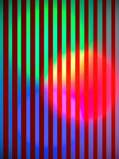 Hideo Anze, 'Stripe(50Hz) 2015/05/08 22:54:35 shinjuku-ku', 2014-2020