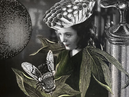 Stacey Steers, 'Edge of Alchemy Ed. 10 (woman with wasp nest crown)'