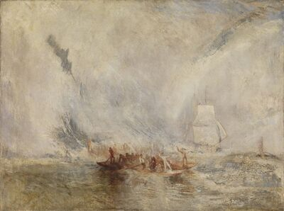 J. M. W. Turner, 'Whalers ', 1845