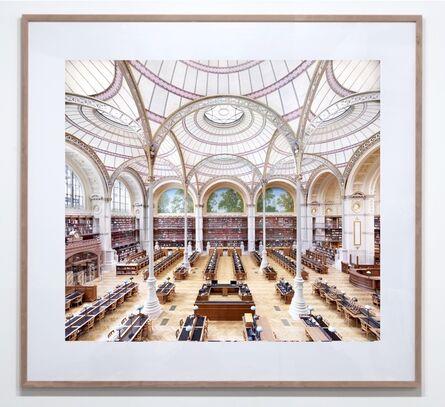 Candida Höfer, 'La Salle Labrouste - La Bibliothèque de l'INHA Paris I 2017'