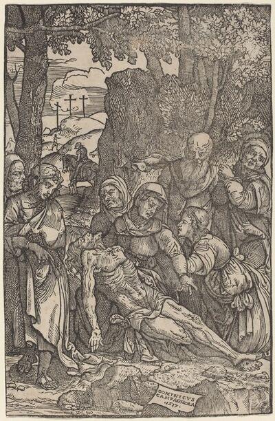 Domenico Campagnola, 'Lamentation of Christ', 1517