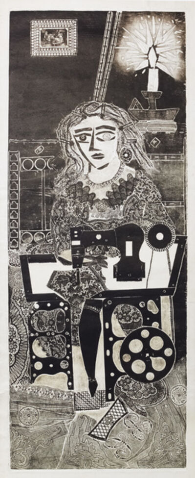 Antonio Berni, ' Ramona de Costurera', 1963