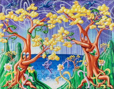 Kenny Scharf, 'PARADIS PERDU', 2018