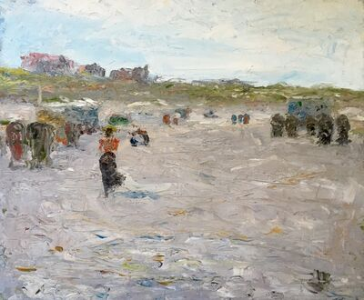 Charles Webster Hawthorne, 'At the Beach', 1898
