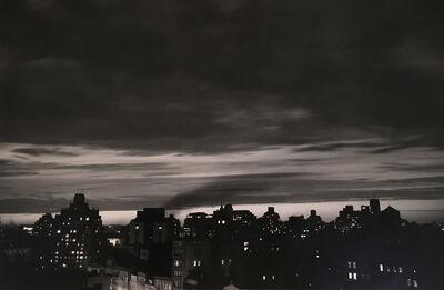 André Kertész, 'Homage to Robert Capa, 1954 (New York Skyline)', 1954