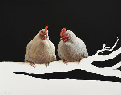Alexandra Klimas, 'Miep the Chicken and Lellebel the Chicken ', 2015