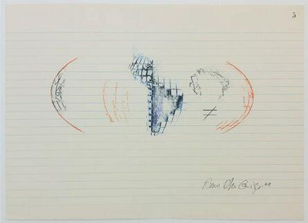 Anna Bella Geiger, 'Equações # 5', 1978