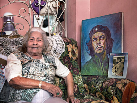 Neil O. Lawner, 'Woman with Che'