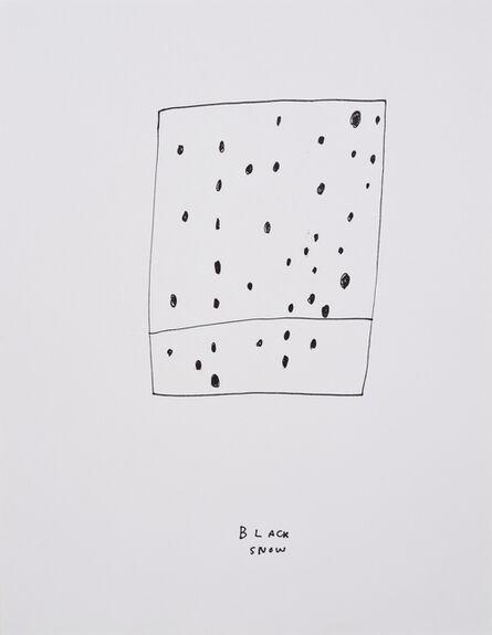 Jim Torok, 'Black Snow', 2014