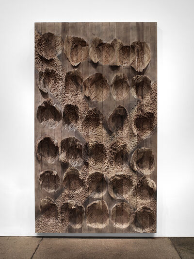 Ursula Von Rydingsvard, 'Quarter Moon Crazies', 2014
