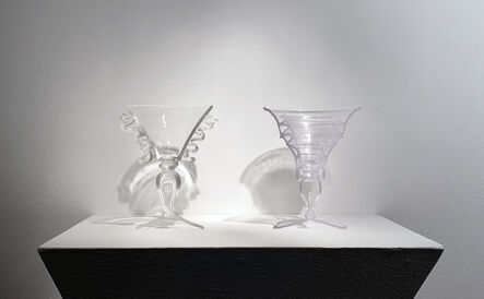 KIM HARTY, 'PLATE 25, SMALL GOBLET WITH FRILLY HANDLE', 2019