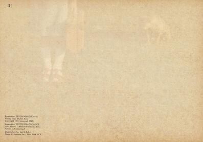 Odette England, 'Self Diagnosis III', 2011