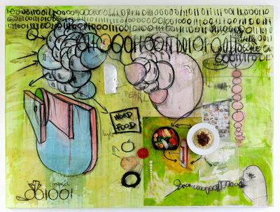 Fabrice Hyber, 'WORD, FOOD', 2014-2015