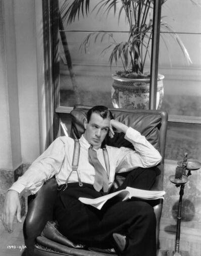 E.R. Richee, 'Gary Cooper', 1931