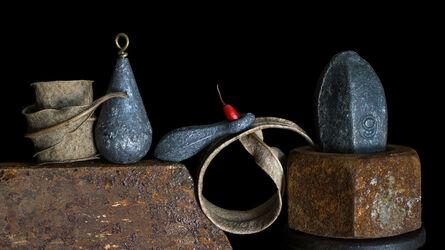 Allan Markman, 'Leaves, Lead, Steel, Red'