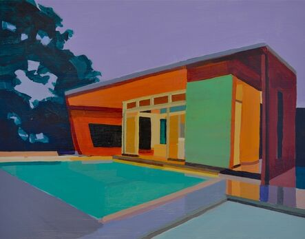 Andy Burgess, 'Modern House, Lavender Sky', 2009