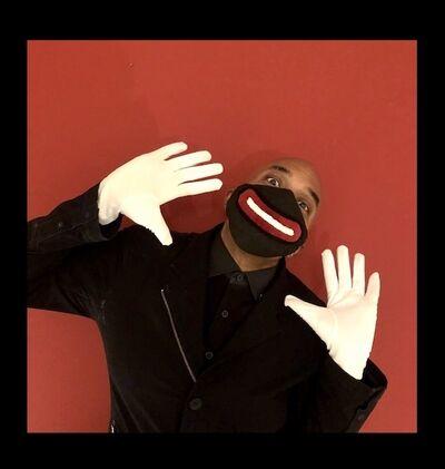 David C. Terry, 'Blackface Mask ', 2020