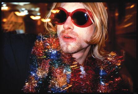 Alice Wheeler, 'KURT COBAIN (glasses) AT MTV'S LIVE & LOUD PIER 48 SEATTLE DEC 13, 1993', 1993