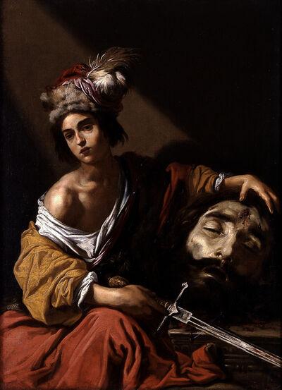 Claude Vignon, 'David with the Head of Goliath', 1620