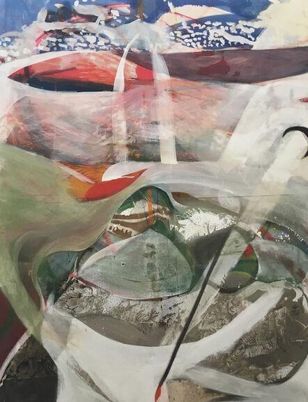 Finlay Abbott Ellwood, 'Vulture Links Rabbit', 2018