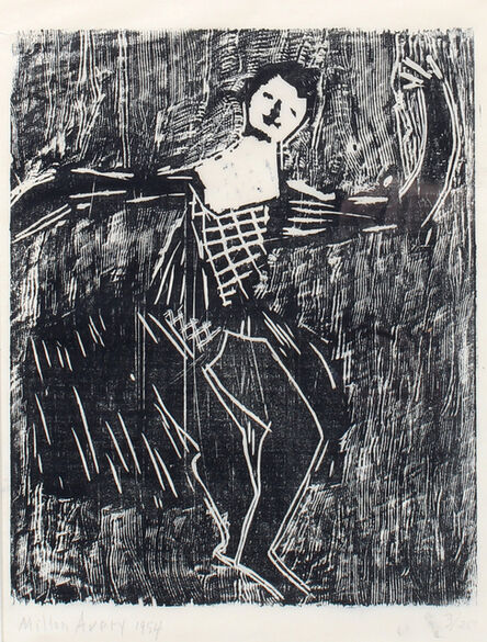 Milton Avery, 'Dancer', 1954