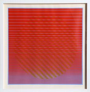 Julian Stanczak, 'Rising No. 1 from Eight Variatnts', ca. 1970