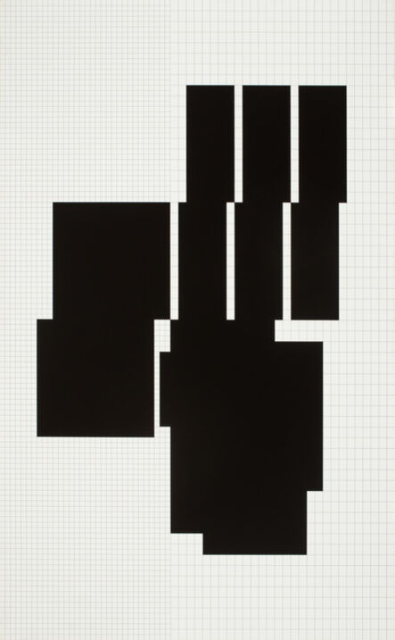 Attila Kovács, 'koordination p3-27-1973-1977, 5th distribution', 1977