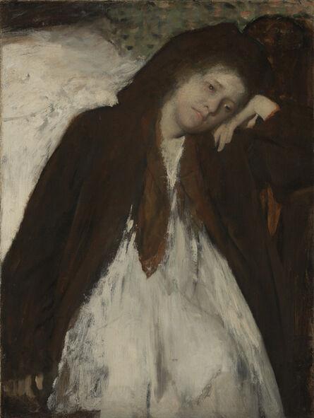 Edgar Degas, 'The Convalescent', 1872