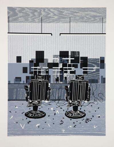 Hurvin Anderson, 'Barbershop Print', 2010