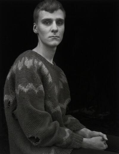 Agnieszka Sosnowska, 'Arnar in the Borrowed Sweater,Djúpivogur,!celand', 2015