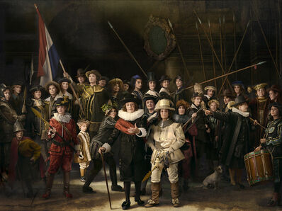 E2 - KLEINVELD & JULIEN, 'Ode to Rembrandt's The Night Watch (with Mufide Halaceli)', 2015