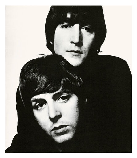 David Bailey, 'John Lennon and Paul McCartney', 1965