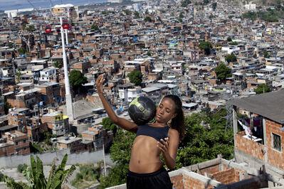 Marcia Zoet, ' Karen Prado, player for the women's soccer team for Complexo do Alemão', 2014