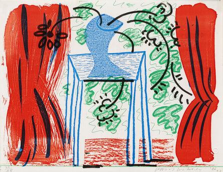 David Hockney, 'Still Life with Curtains, March 1986', 1986