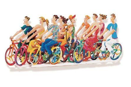 David Gerstein, 'Biking B', 1997