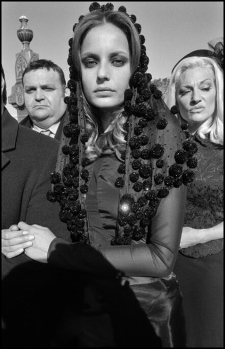 Bruce Gilden, 'Mafia Funeral. Fashion Shoot, Queens, New York', 2005